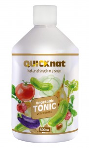 Vegetable tonic with vitamins and functional additives